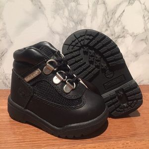 Timberland Toddler Field Unisex 15806 Black Boot